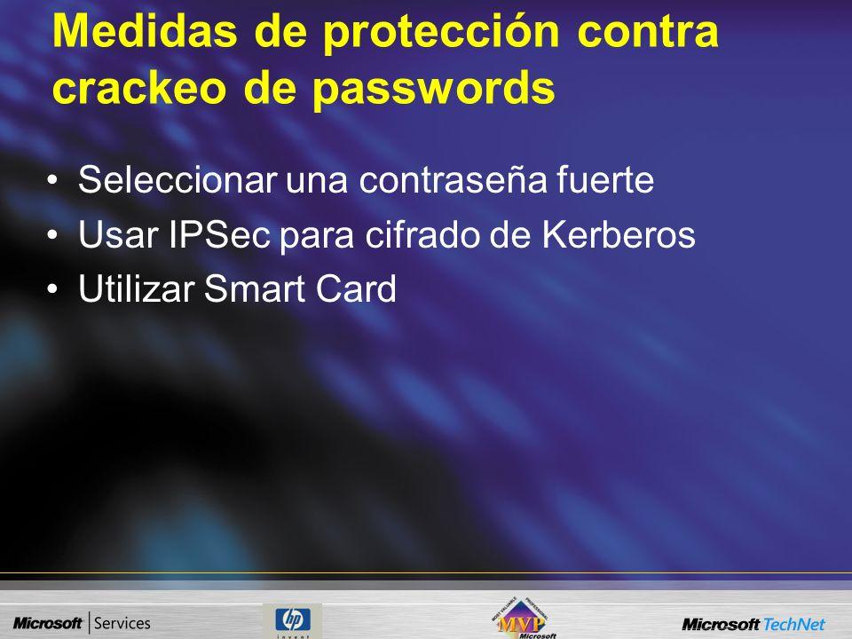 Protección contra Envenenamiento de Conexiones Utilización de detectores de Sniffers. –Utilizan test de funcionamiento anómalo. Test ARP Sistemas de d