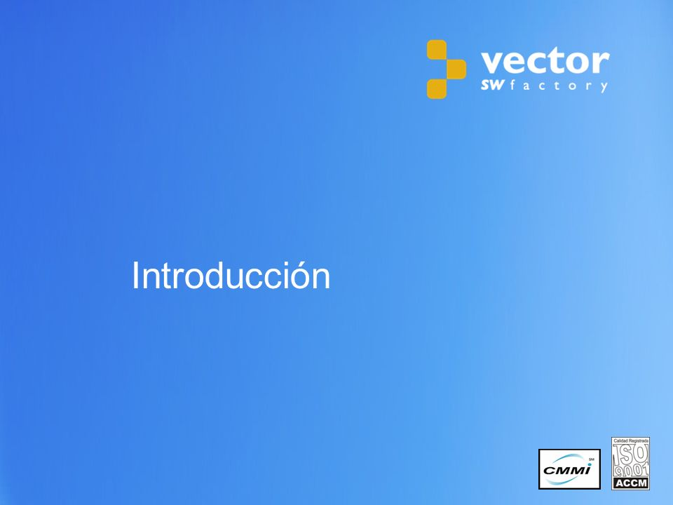 17 Copyright © 2011 Vector Software Factory DEMO 3.1.
