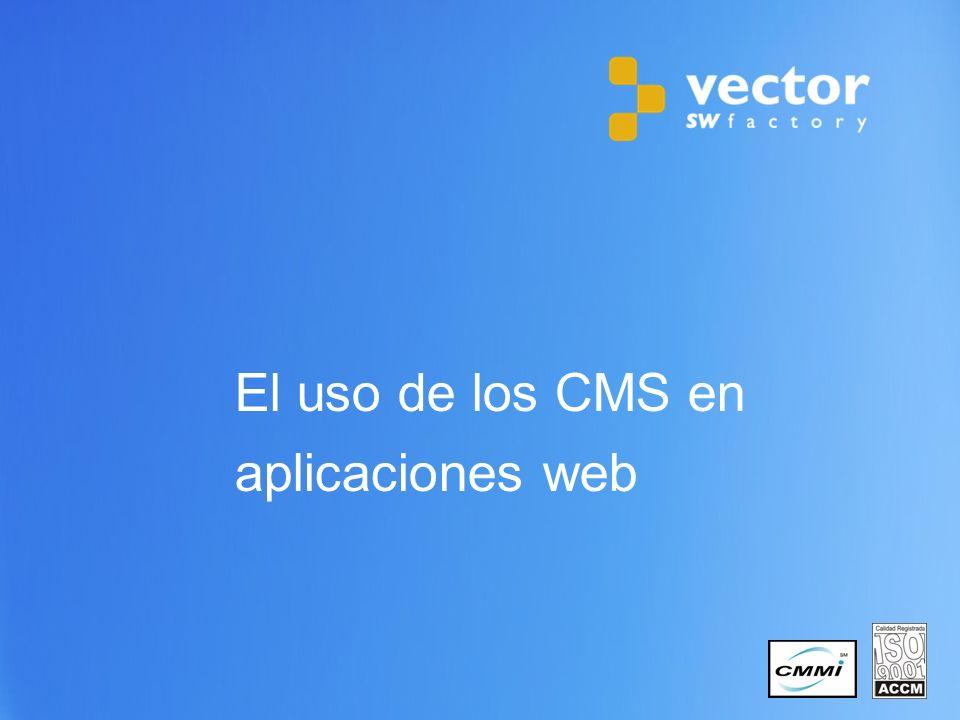 9 Copyright © 2011 Vector Software Factory 2.1.¿Qué es un CMS.