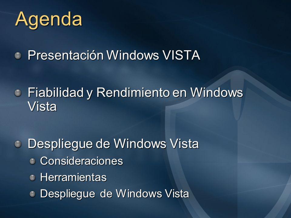Cosas a Olvidar Directorio I386, WINNT.EXE y WINNT32.EXE Sustituidos por un SETUP e imágenes en formato WIM Disquetes de Arranque con MS-DOS Utilizar WinPE 2.0.
