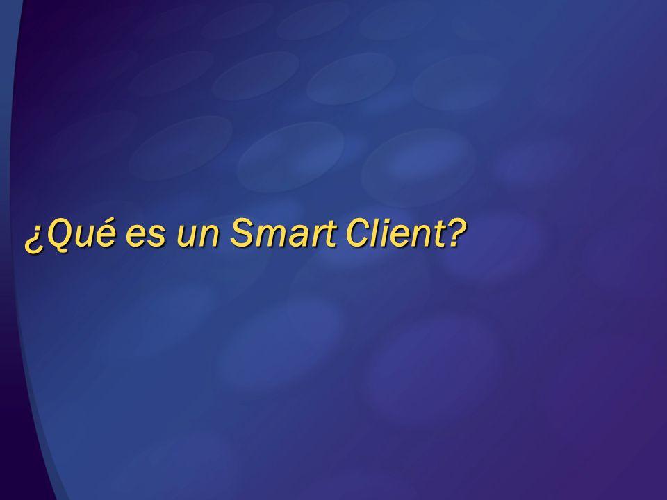 ¿Qué es un Smart Client?