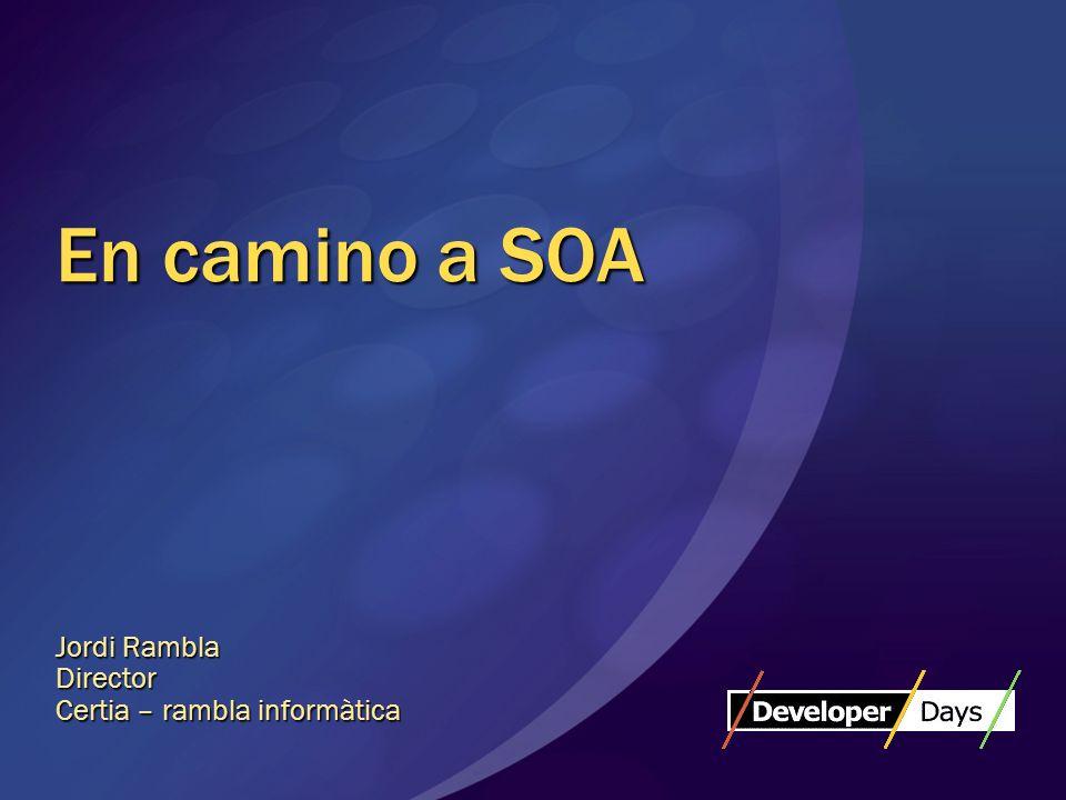 ¿En qué consiste SOA.