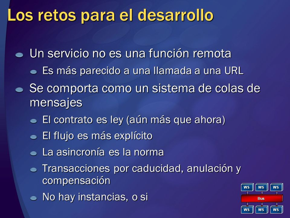 ¿En qué consiste SOA? A service architecture consists of three primary components…the service provider…the service requestor...the service agency prov