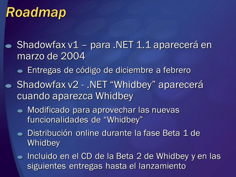Shadowfax: Elementos de desarrollo