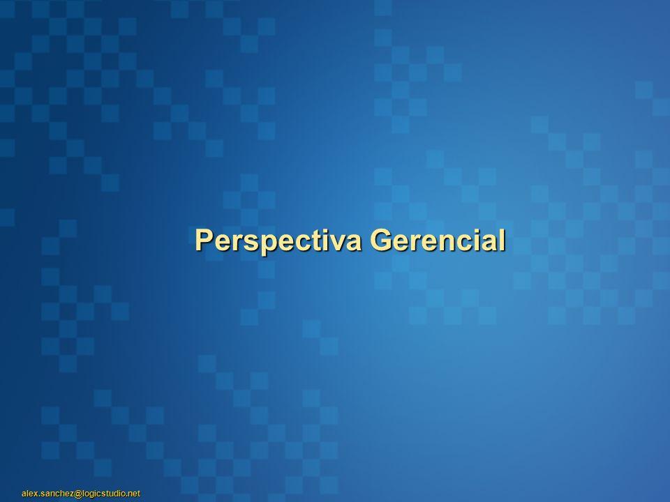 alex.sanchez@logicstudio.net Perspectiva Gerencial
