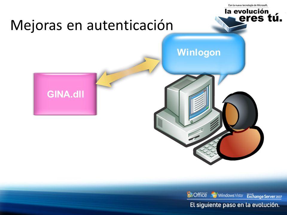 Mejoras en autenticación Winlogon GINA.dll