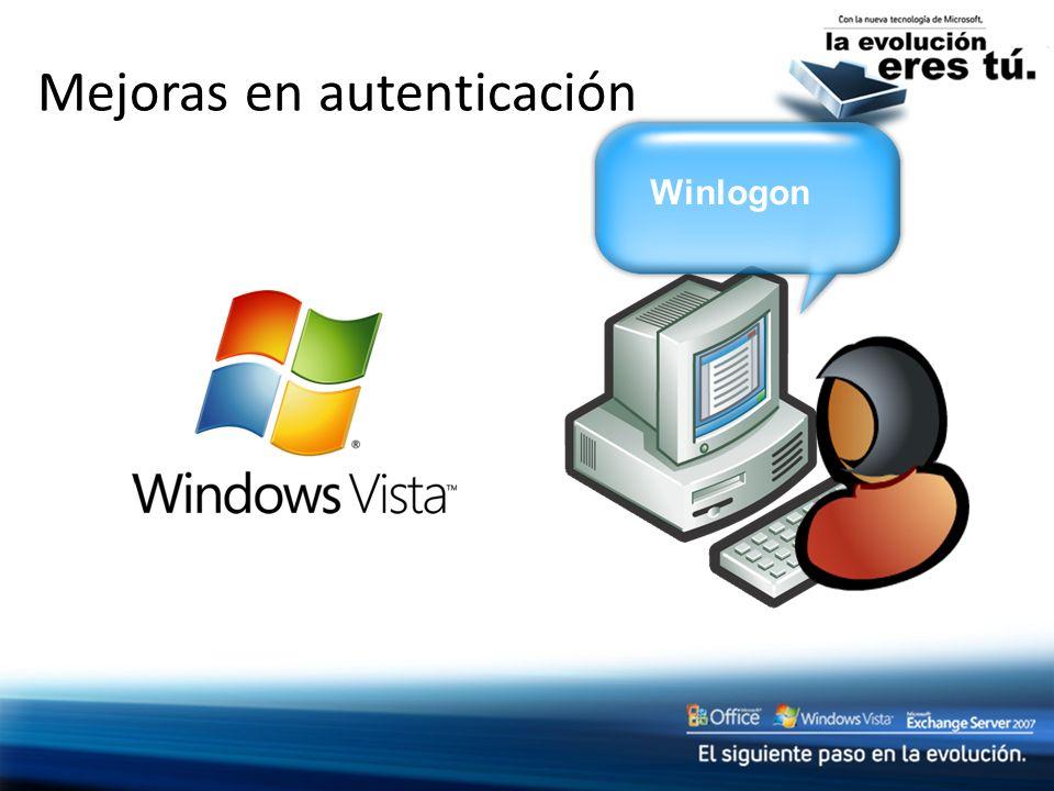Mejoras en autenticación Winlogon