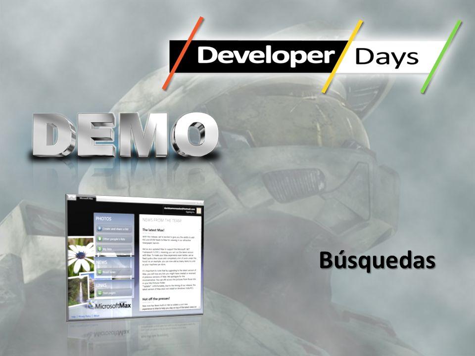 –No bloquees el interfaz de usuario –Diálogos Modales sólo si son necesarios –MessageBox con preguntas –Notificaciones –Barras de Estado