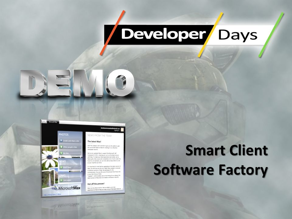 Smart Client Software Factory