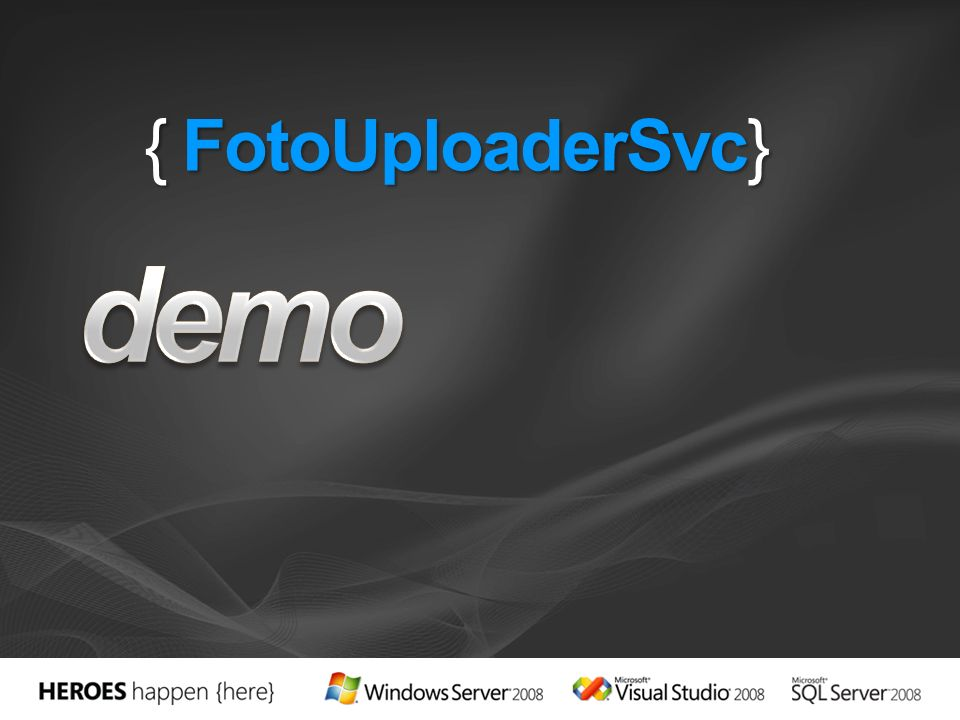 Aplicación Windows Forms.NET CF 3.5 Creación del proxy usando NetCFSvcUtil.exe Instalado con los Power Toys for.NET CF 3.5 (no viene con Visual Studio de serie) C:\Program Files\Microsoft.NET\SDK\CompactFramework\v3.5\bin> Netcfsvcutil.exe /language:cs http://[servicio].svc