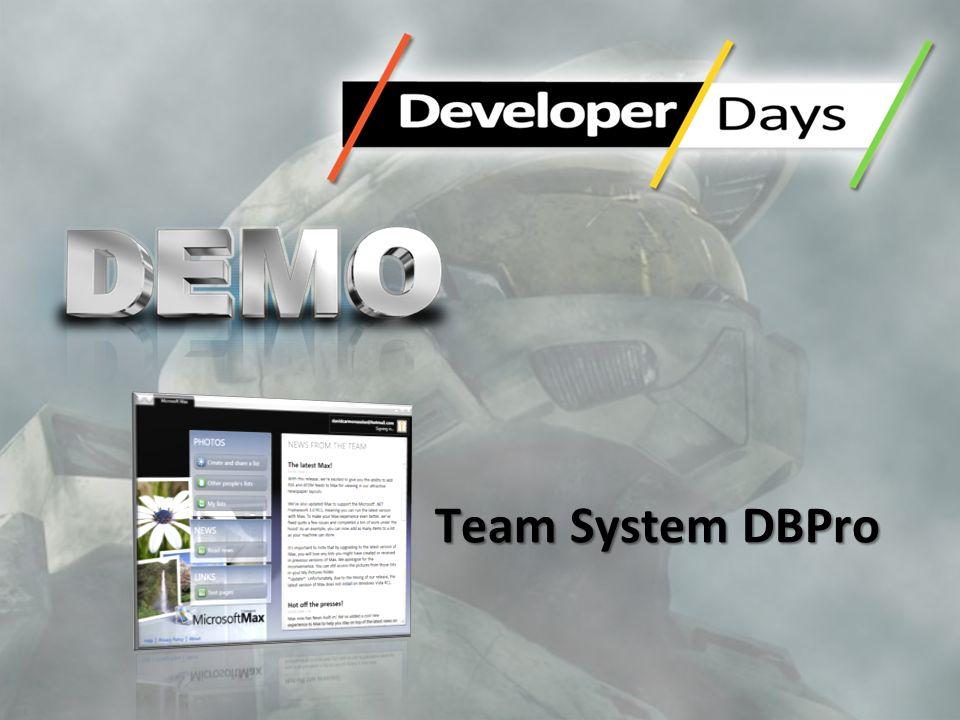 Team System DBPro