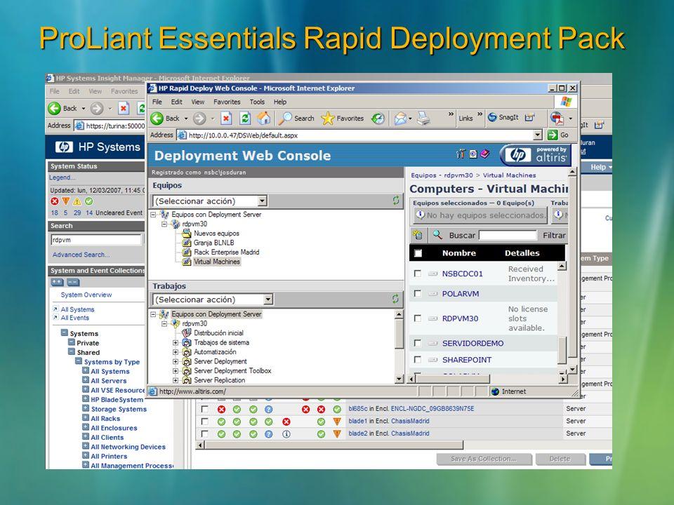 ProLiant Essentials Rapid Deployment Pack