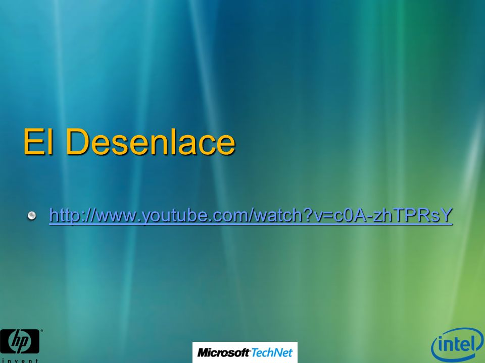 El Desenlace http://www.youtube.com/watch?v=c0A-zhTPRsY