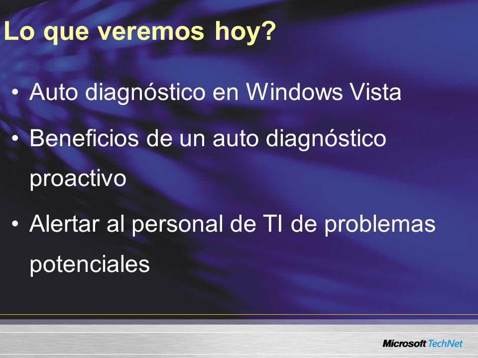 Demo Protección de los Recursos del Sistema Diagnósticos de Memoria demostración