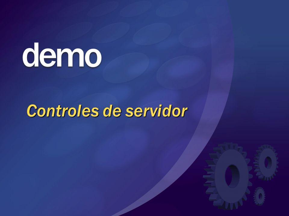 Controles de servidor