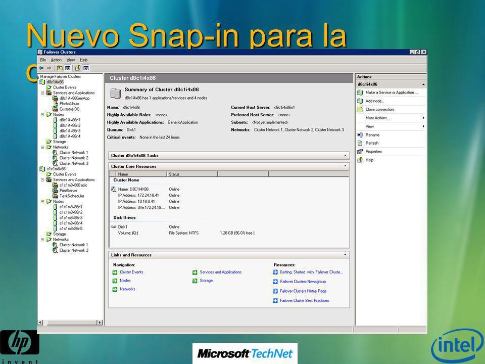 La Consola de Administración a dia de hoy… Nuevo Snap-in para la consola MMC