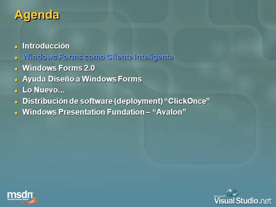 Markup para Windows Markup para Windows Instrucciones simples y declarativas Instrucciones simples y declarativas Código y Contenido estan separados Código y Contenido estan separados Colaboración entre diseñadores y desarrolladores Colaboración entre diseñadores y desarrolladores Herramientas para crear y consumir Herramientas para crear y consumir OK LightBlue Button b1 = new Button(); b1.Content = OK ; b1.Background = new SolidColorBrush(Colors.LightBlue); b1.Width = 100; Dim b1 As New Button b1.Content = OK b1.Background = New _ SolidColorBrush(Colors.LightBlue) b1.Width = 100 Programación declarativa XAML EXtensible Application Markup Language