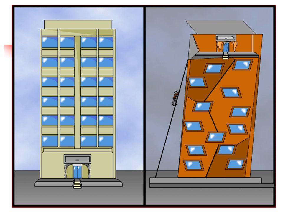 3 ¿Si su software fuera un edificio, se parecería mas a uno de la izquierda o de la derecha?