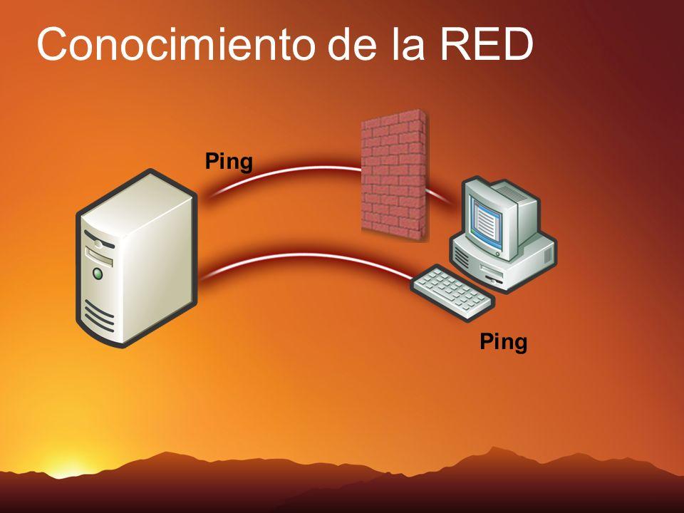 Conocimiento de la RED Pin Ping