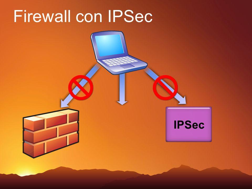 Firewall con IPSec IPSec