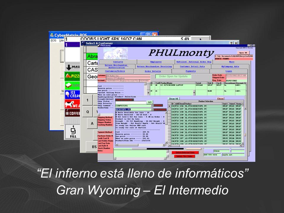 El infierno está lleno de informáticos Gran Wyoming – El Intermedio