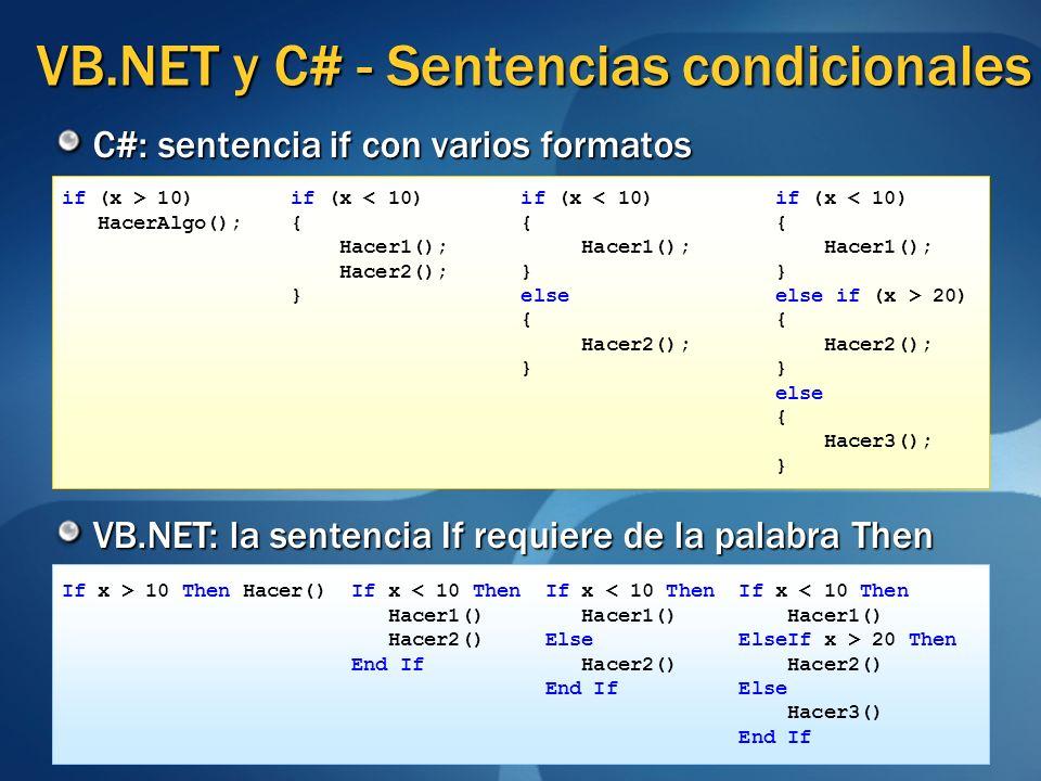 if (x > 10) if (x < 10) if (x < 10) if (x < 10) HacerAlgo(); { { { Hacer1(); Hacer1(); Hacer1(); Hacer2(); } } } else else if (x > 20) { { Hacer2(); H