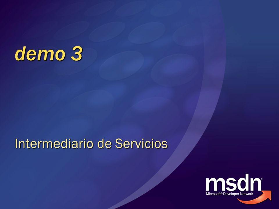 demo 3 Intermediario de Servicios