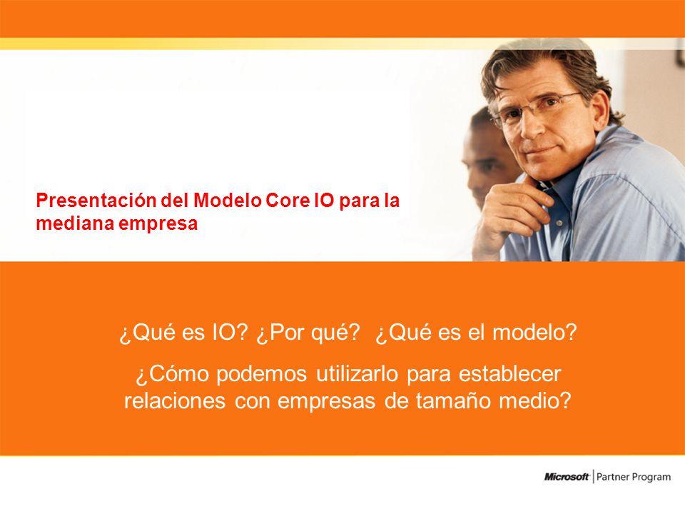Presentación del Modelo Core IO para la mediana empresa ¿Qué es IO.