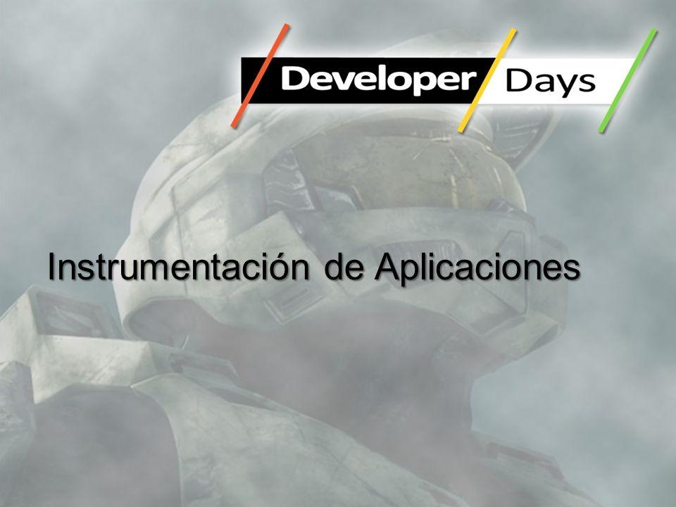 Instrumentación de Aplicaciones