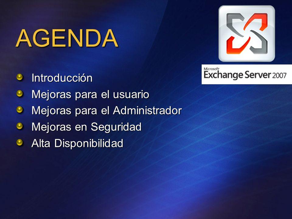 Mejoras en la navegación del Árbol Exchange 2003 Exchange 12