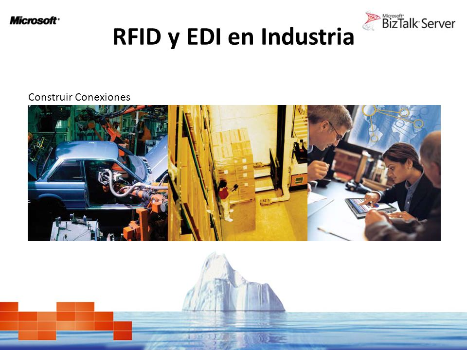 RFID y EDI en Industria Construir Conexiones