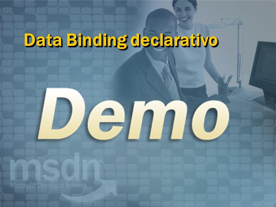 Data Binding declarativo