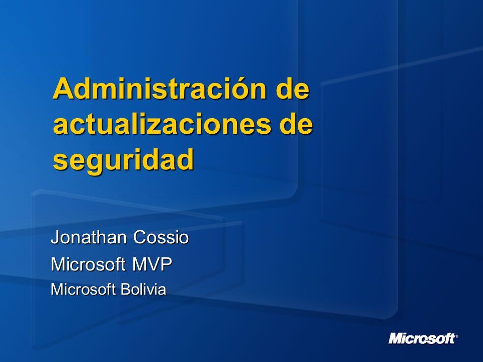 Inventory Tool for Microsoft Updates Parte de Systems Management Server 2003