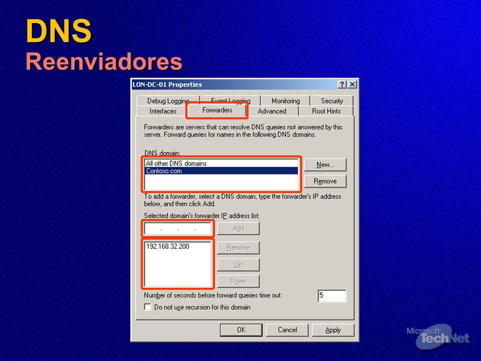 DNS Reenviadores