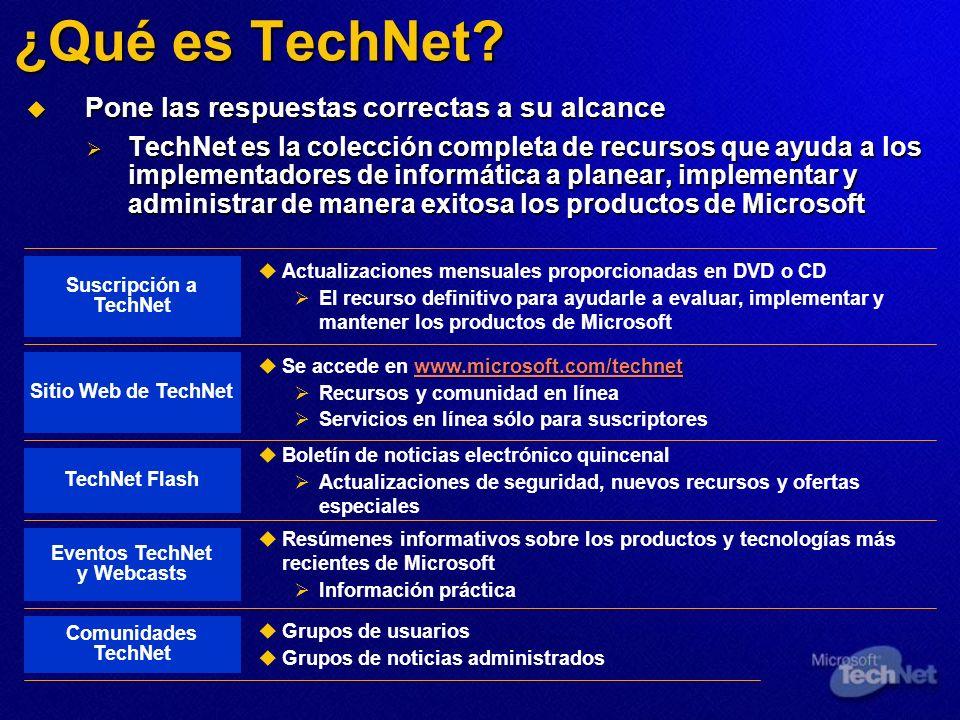 ¿Qué es TechNet.