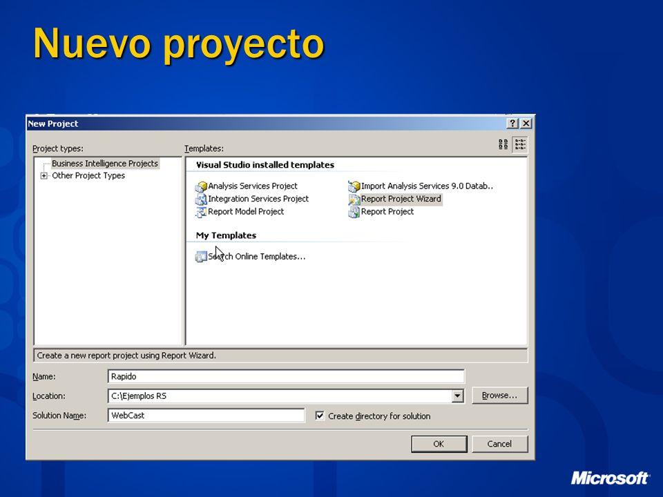 Nuevo reporte: New Item