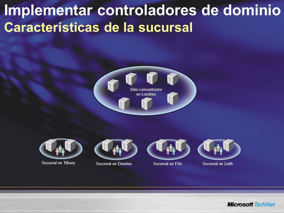 Agenda Implementar los controladores de dominio remoto Utilizar WMI para la administración remota Herramientas de administración de Windows Server 2003
