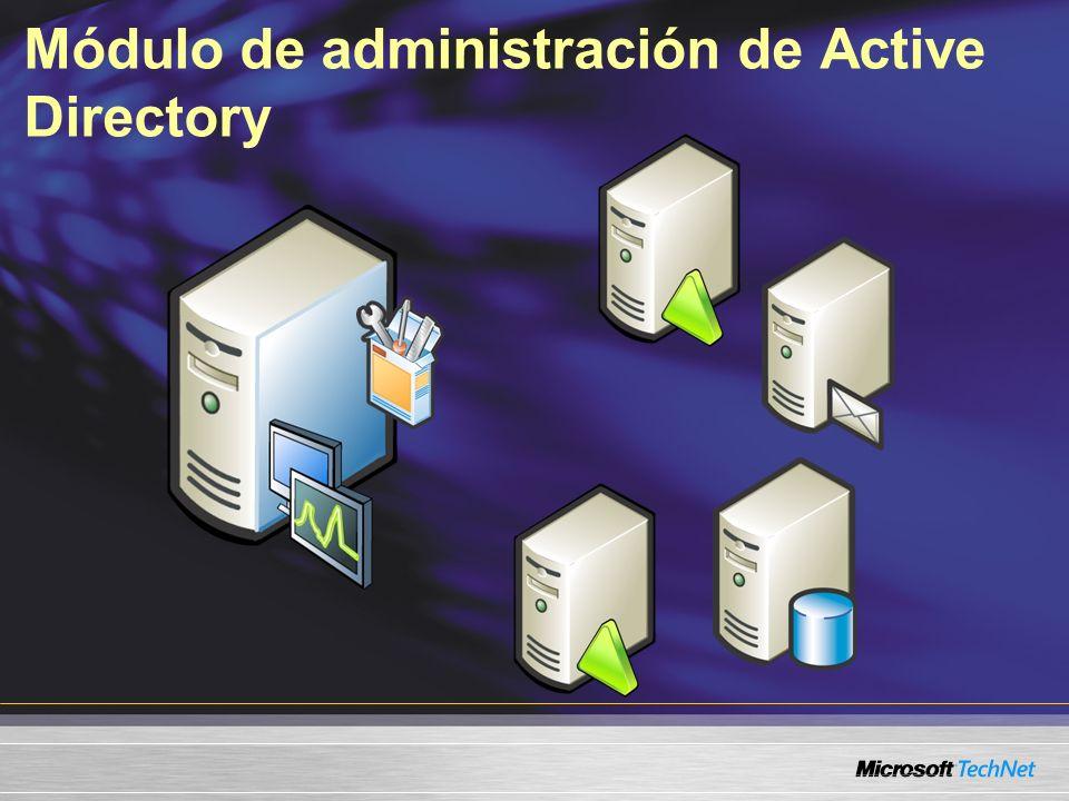 Módulo de administración de Active Directory