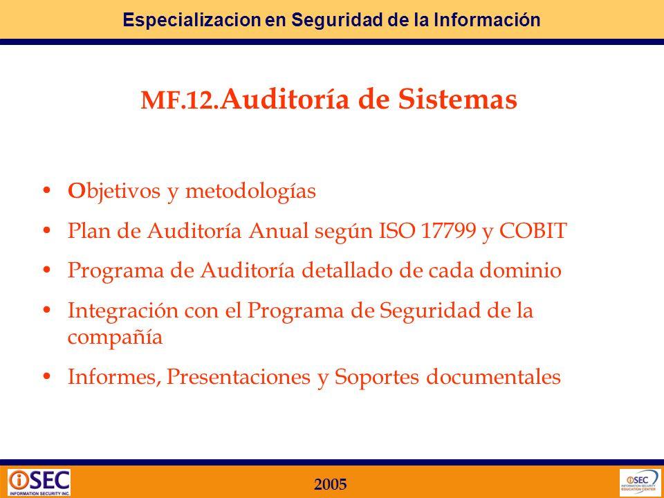 Especializacion en Seguridad de la Información 2005 Relación entre RIESGOS y DELITOS informáticos Entre los delitos, infracciones administrativas y ma