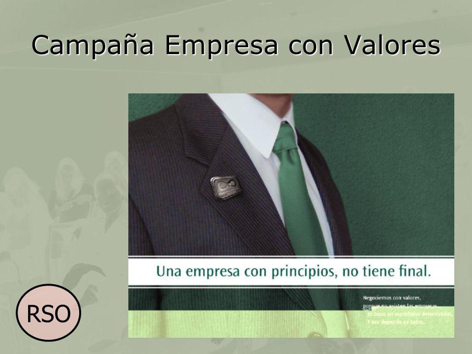 Campaña Empresa con Valores RSO