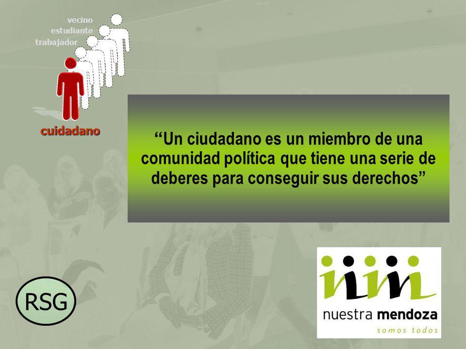 trabajador estudiante vecino Un ciudadano es un miembro de una comunidad política que tiene una serie de deberes para conseguir sus derechos cuidadano