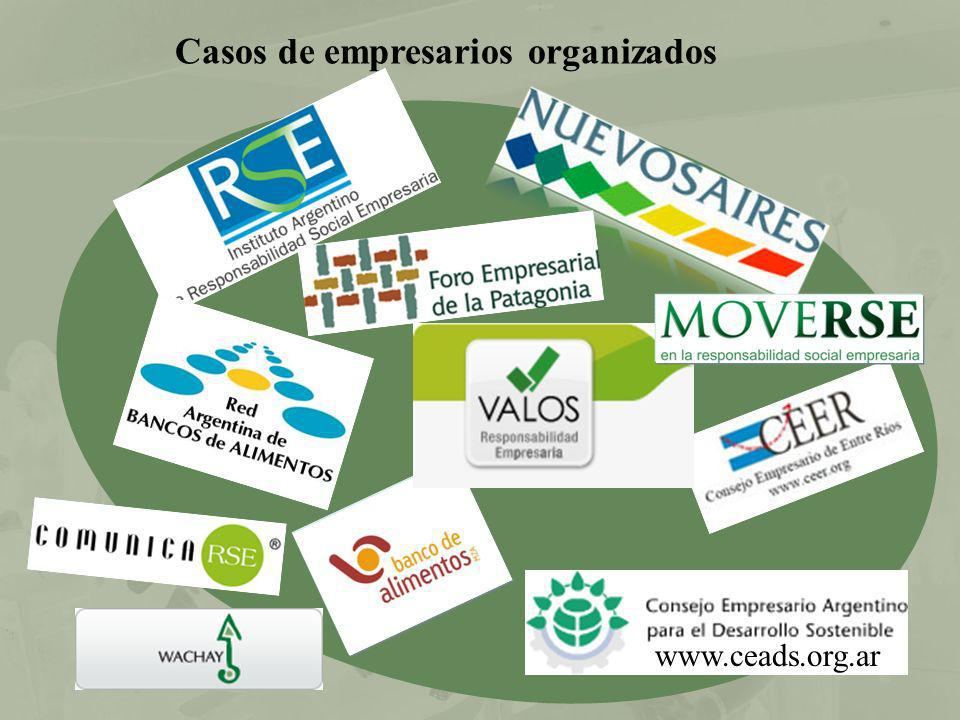 Casos de empresarios organizados www.ceads.org.ar