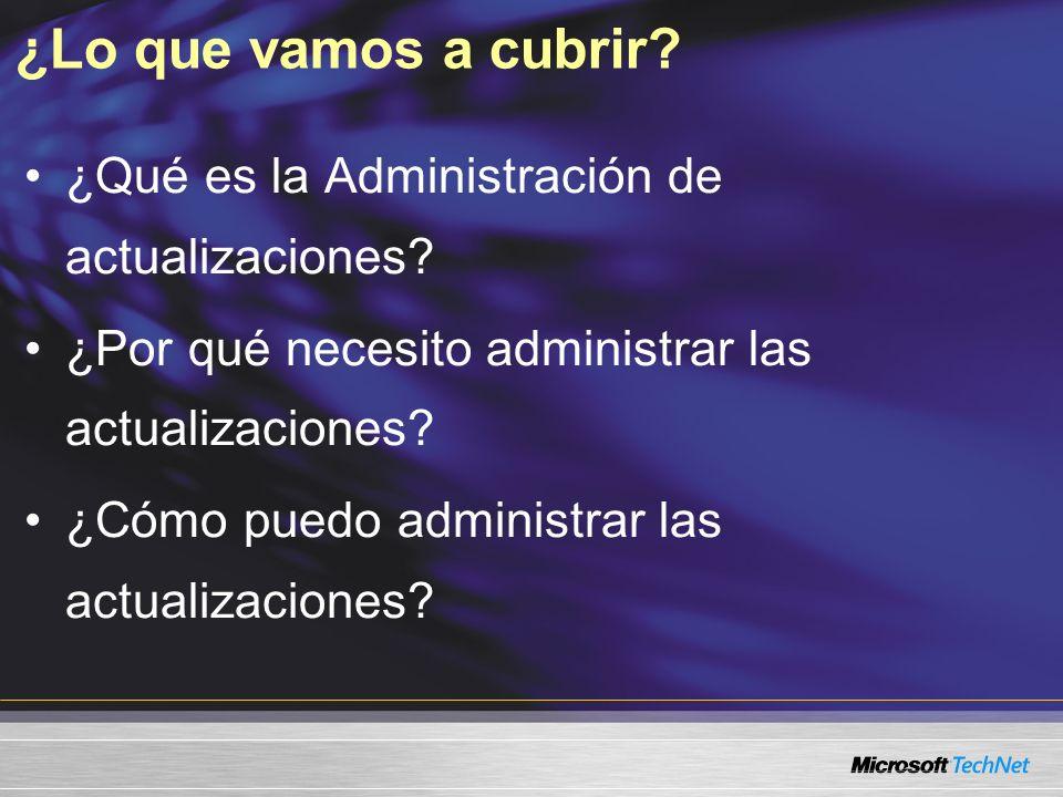 Experiencia útil Nivel 200 Experiencia práctica con Microsoft Windows® 2000 Server o herramientas de administración de Windows Server 2003