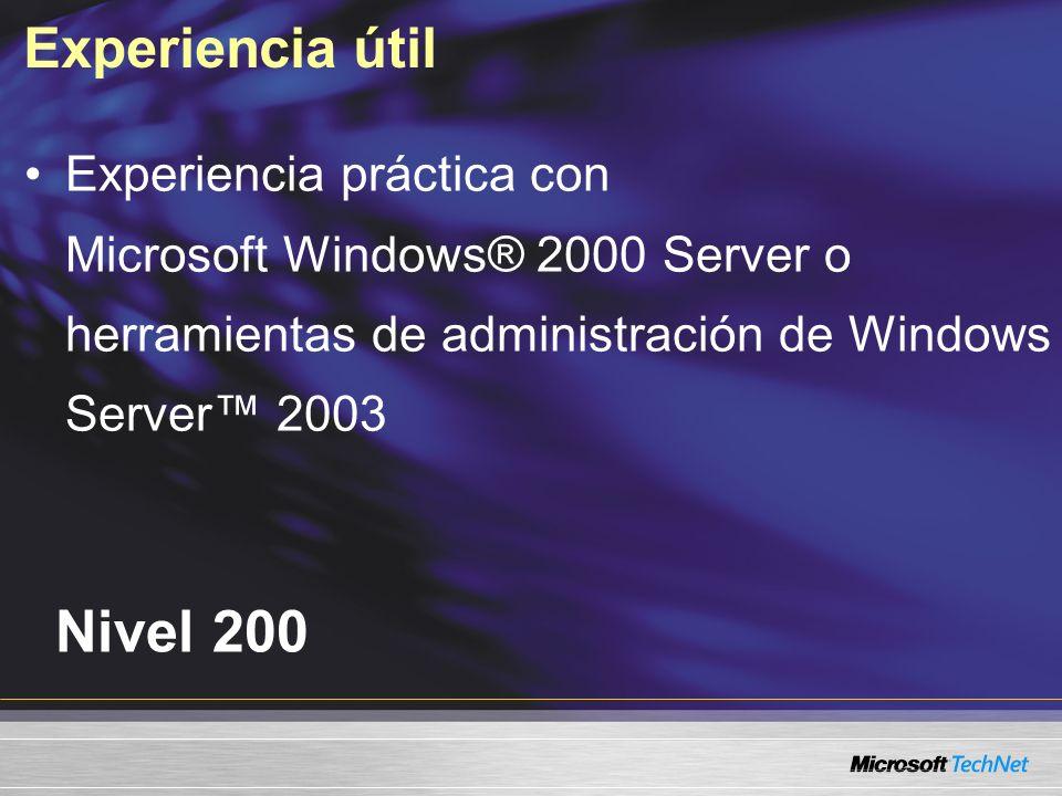 Consideraciones de MBSA Debilidad de la contraseña La cuenta del visitante no está desactivada No está configurada la auditoría Se instalan servicios innecesarios Problemas de seguridad de Internet Information Services (IIS) Configuraciones de la zona de Internet Explorer Configuración de las actualizaciones automáticas Configuración del firewalll de Windows® XP