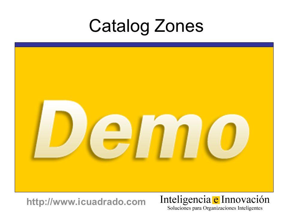 http://www.icuadrado.com Catalog Zones