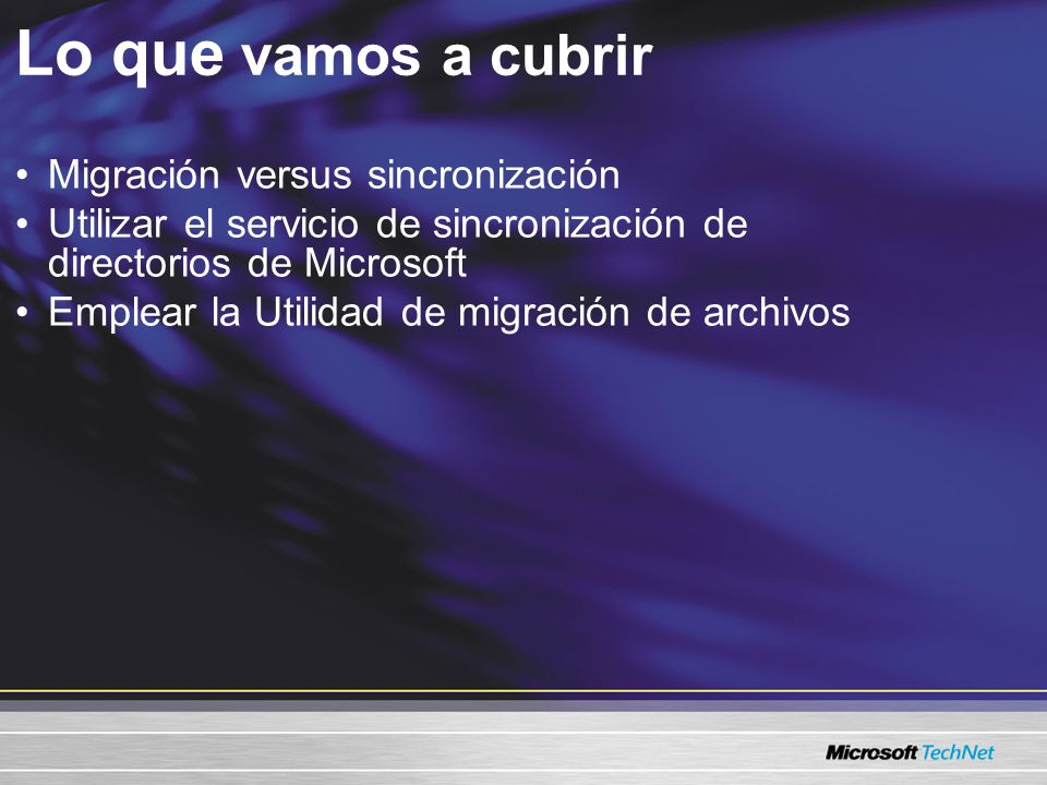 Conocimiento previo Nivel 200 Experiencia en administrar servidores Windows Server 2003 Experiencia en administrar redes Novell NetWare