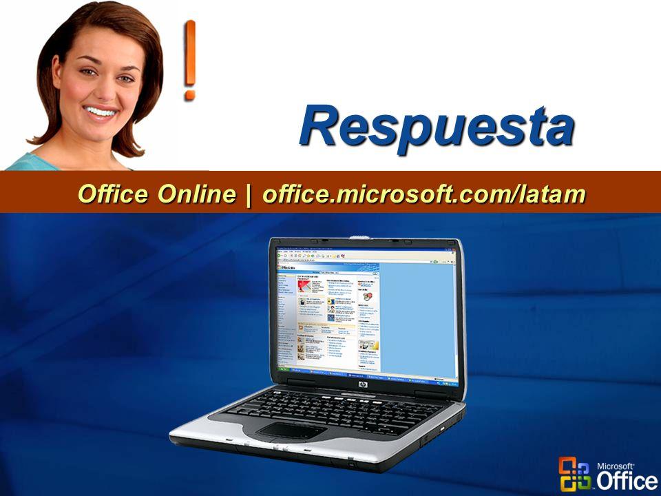 Respuesta Office Online | office.microsoft.com/latam