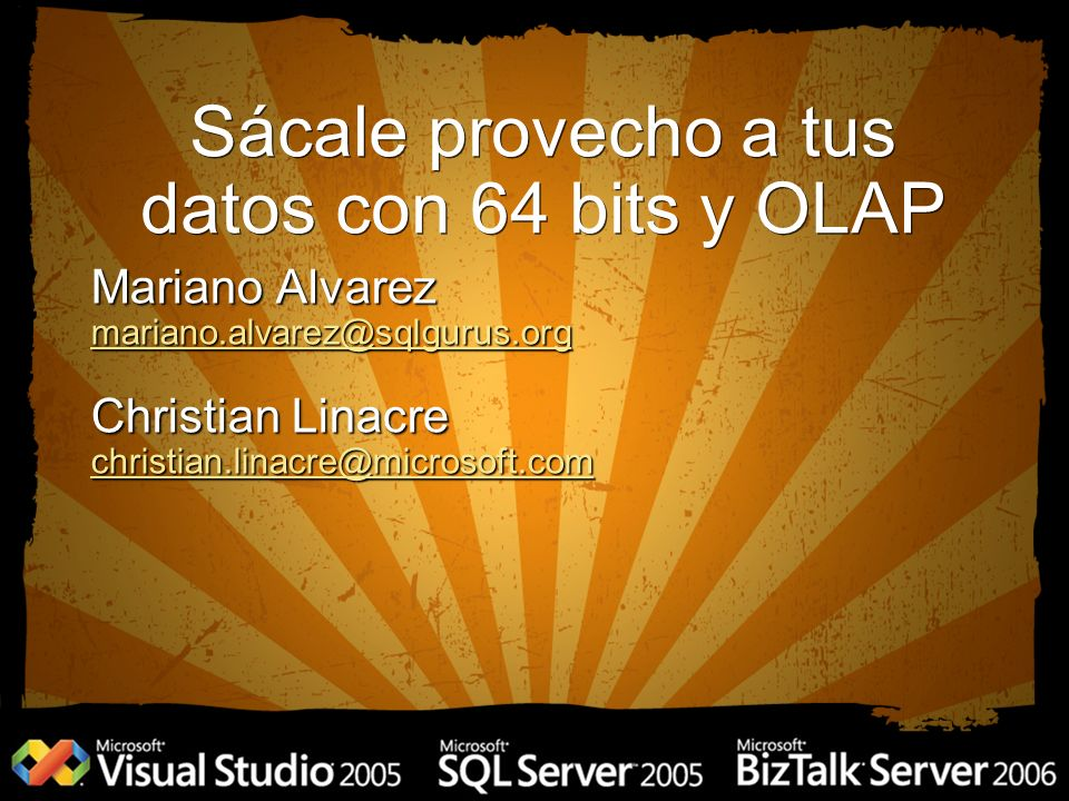 Migración de DTS Migración de DTS SQL Server 64 bits SQL Server 64 bits SQL Server Integration Services SQL Server Integration Services Analysis Services - OLAP Analysis Services - OLAP Analysis Services - Mining Analysis Services - Mining