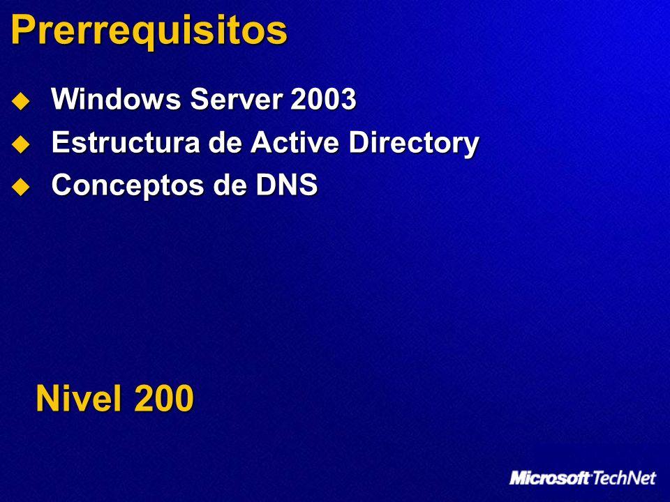 Agenda Instalar y administrar DNS Instalar y administrar DNS Integración de Active Directory Integración de Active Directory Funciones y configuración de DNS Funciones y configuración de DNS DNS en bosques federados DNS en bosques federados
