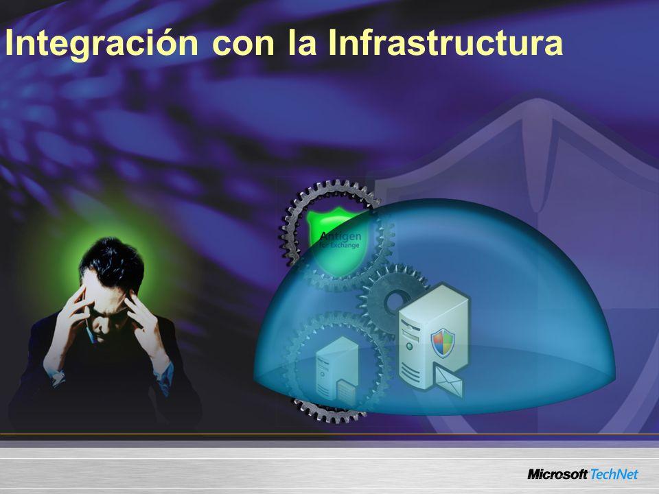 Integración con la Infrastructura